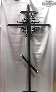 Крест кованый-11