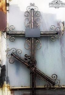 Крест кованый-12