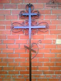 Крест кованый-14