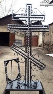 Крест кованый-4