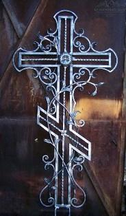 Крест кованый-6