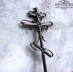 Крест кованый-7
