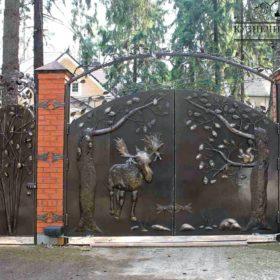Ворота кованые распашные ВГК-99