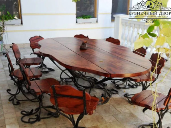 Кованая мебель СГК-10