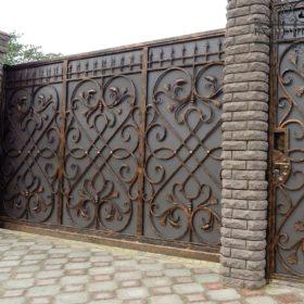 Ворота кованые ВГК-100
