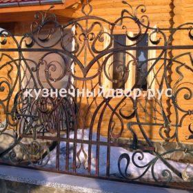 Забор кованый ЗГК-35