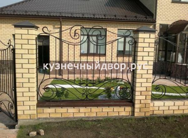 Забор кованый ЗГК-36
