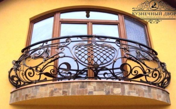 Балкон кованый БГК-39