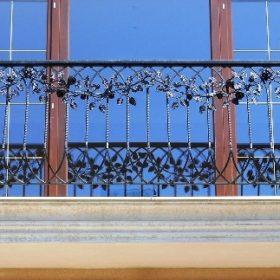 Балкон кованый БГК-42