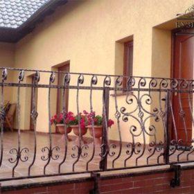 Балкон кованый БГК-43