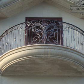 Балкон кованый БГК-44