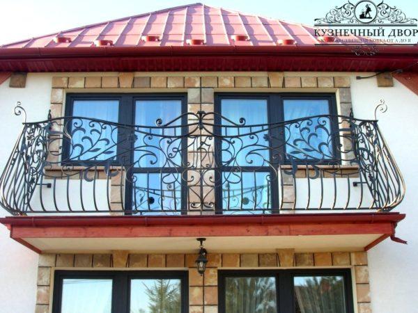 Балкон кованый БГК-46
