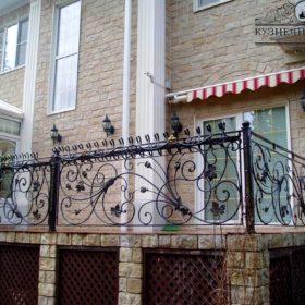 Балкон кованый БГК-50