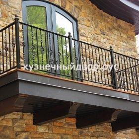 Балконы холодной ковки