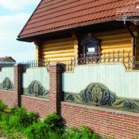 Забор кованый ЗГК-39