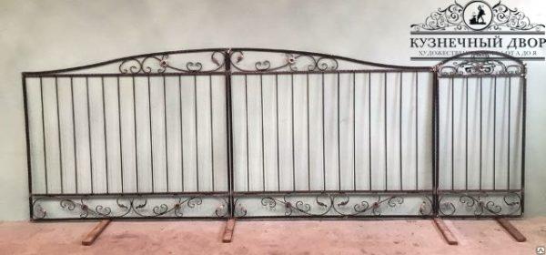 Ворота кованые ВХК-13