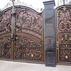 Ворота кованые ВГК-101