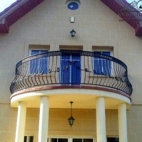 Балкон кованый БГК-51
