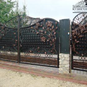 Ворота кованые ВГК-102