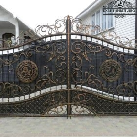 Ворота кованые ВГК-103