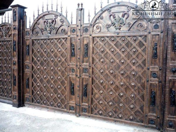 Ворота кованые ВГК-104