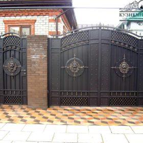Ворота кованые ВГК-105