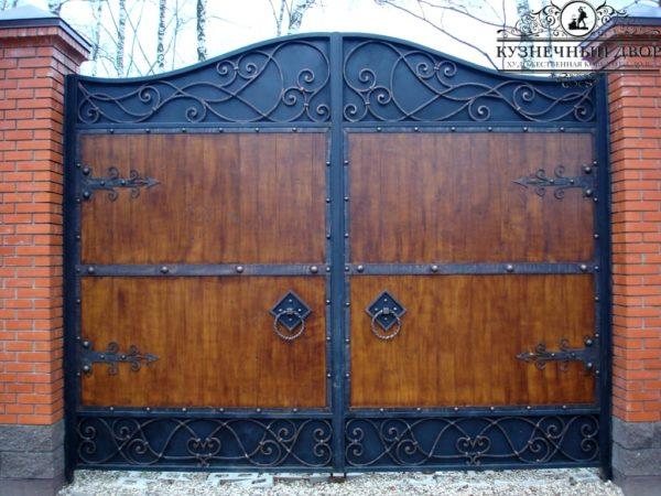 Ворота кованые ВГК-107