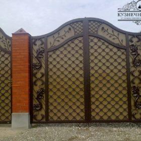 Ворота кованые ВГК-108