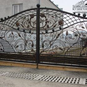 Ворота кованые ВГК-111
