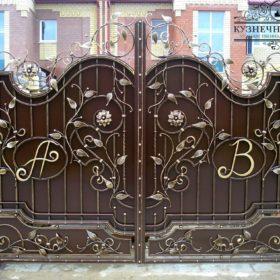 Ворота кованые ВГК-113