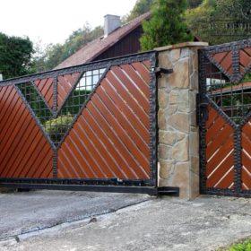 Ворота кованые ВГК-114