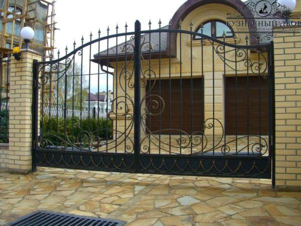 Ворота кованые ВГК-116
