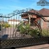 Ворота кованые откатные ВГК-118