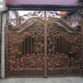 Ворота кованые ВГК-119