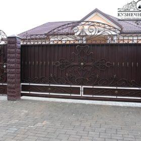 Ворота кованые откатные ВГК-120