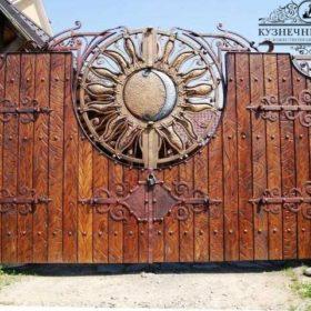 Ворота кованые ВГК-122