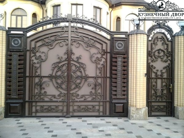 Ворота кованые ВГК-124
