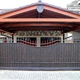 Ворота кованые ВГК-126