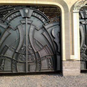 Ворота кованые ВГК-129