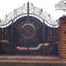 Ворота кованые ВГК-131