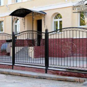 Забор кованый ЗГК-44