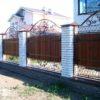 Забор кованый ЗГК-46