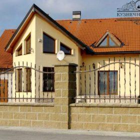 Забор кованый ЗГК-48