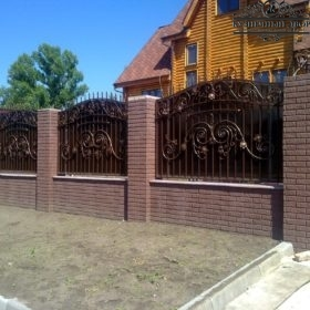 Забор кованый ЗГК-50