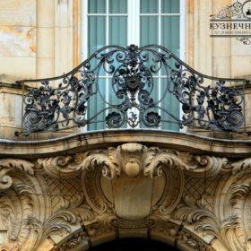 Балконы горячей ковки