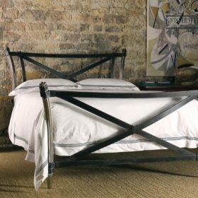 Кровать кованая КРКГ-36