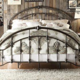 Кровать кованая КРГК-38