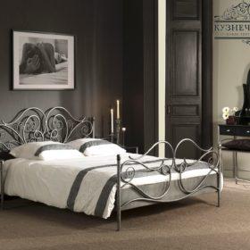 Кровать кованая КРГК-40