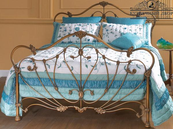 Кровать кованая КРГК-42