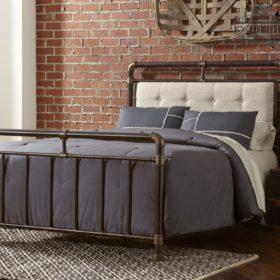 Кровать в стиле LOFT-24